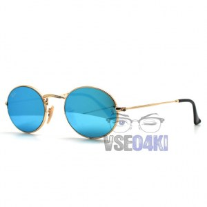 Ray Ban Oval Metal RB3547 001/90