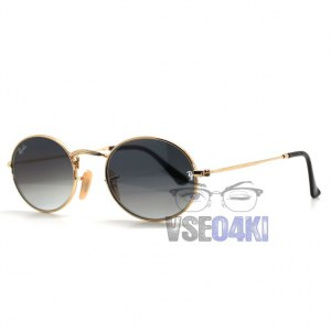 Ray Ban Oval Metal RB3547 001/30 A