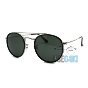 Ray Ban Round Double Bridge RB3647-N 003