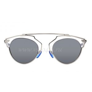 """DIOR SO REAL"" SUNGLASSES CRYSTAL, BLACK AND SILVER"