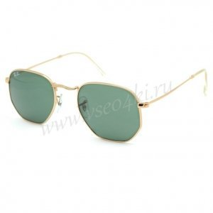 Ray Ban Hexagonal Metal RB3548N 001