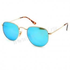 Ray Ban Hexagonal Metal RB3548N 001/9O
