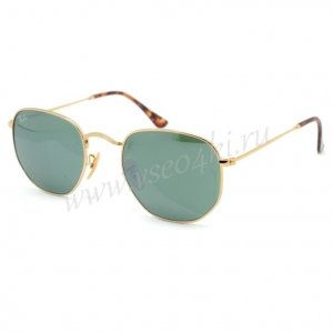 Ray Ban Hexagonal Metal RB3548N 001/30 A